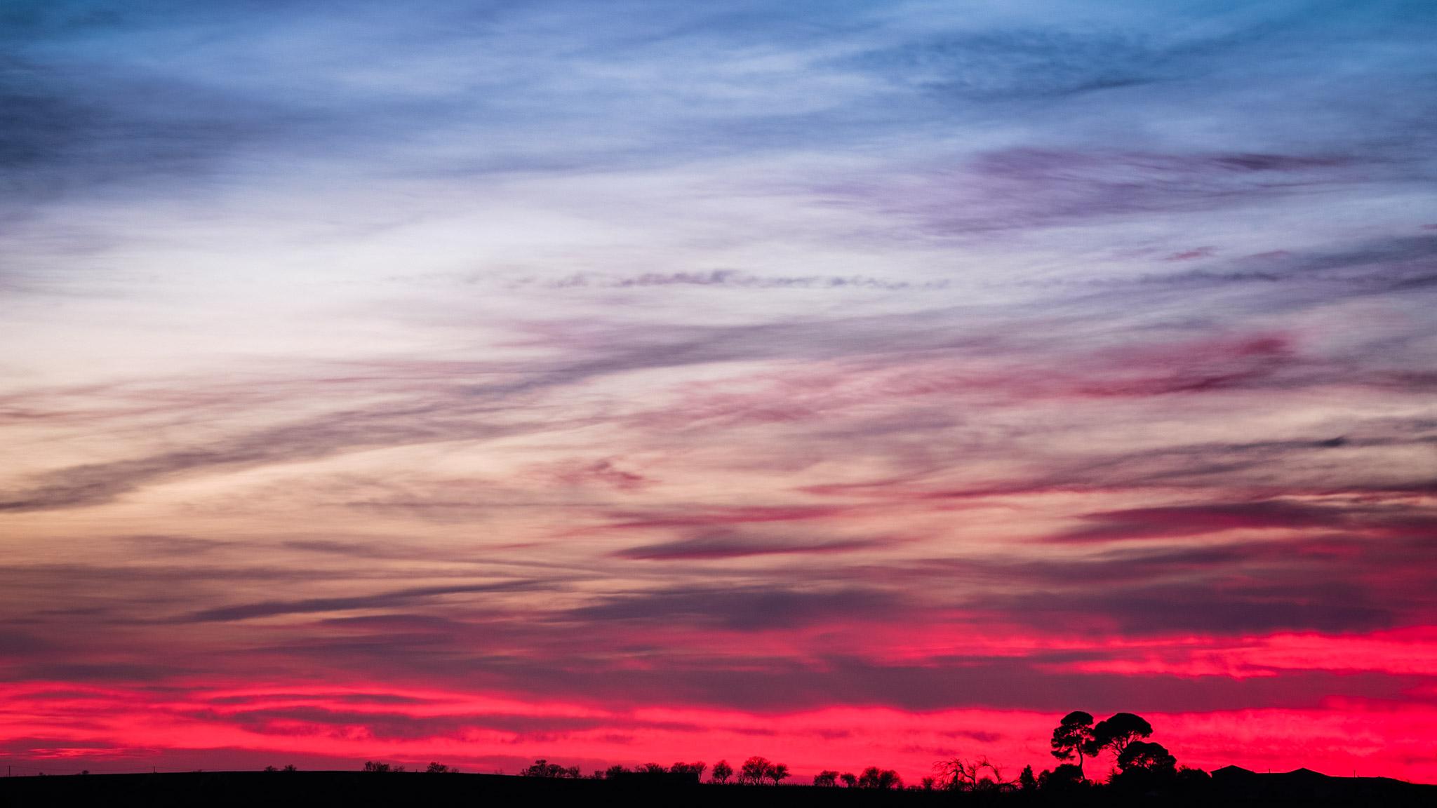 Miximum nuages roses - Coucher de soleil rose ...