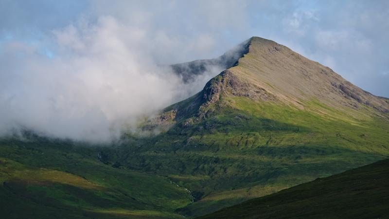 Une belle montagne écossaise